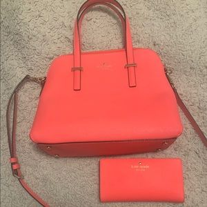 New Kate Spade Dome bag and wallet